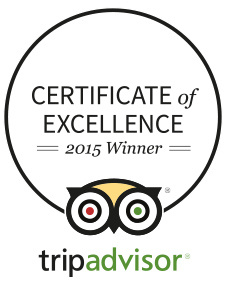 Certificate of Excellence - 2015 winner!